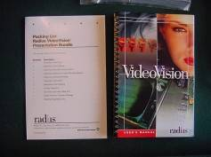 Figure 1: Radius promotional material, circa 1993. Click to enlarge.