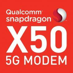 "Qualcomm's Snapdragon X50 Modem is the first announced 5G modem. It is capable of 5 Gbps download on the 28 GHz mmWave spectrum, which is also referred to as ""Extremely High Frequency"" or ""millimeter Wave band."