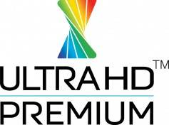 Ultra HD Premium branding logo. Only equipment meeting standards set forth by the UHD Alliance may display this logo on their products.
