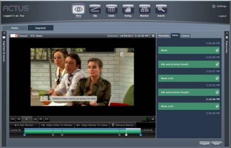 The Actus View enhanced video recording solution is accessible from any computer in the organization.