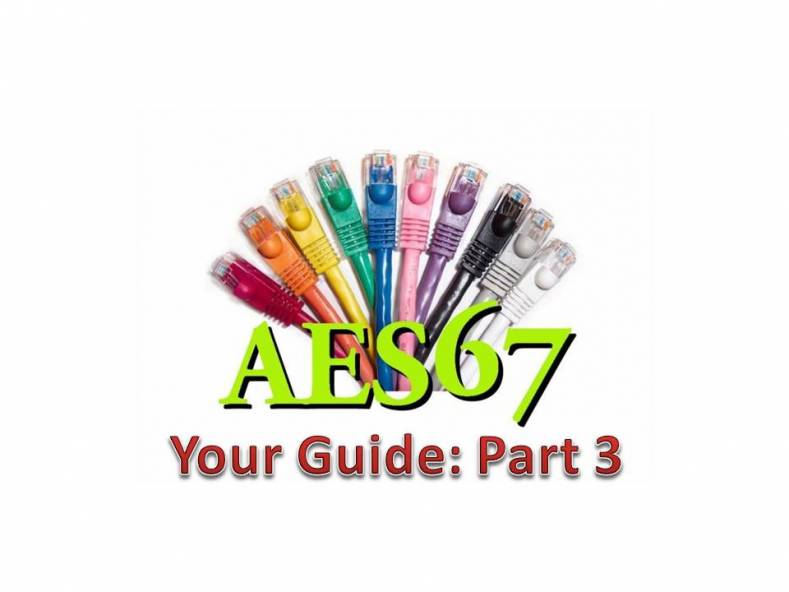 AES67 can be considered the 'glue' you may need to interface your audio gear and build an AoIP network.