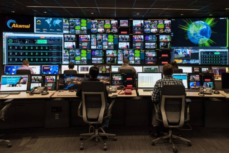 Akamai's latest Broadcast Operating Control Center opened in April , 2016