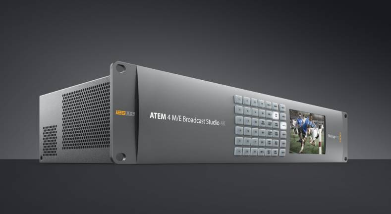 The ATEM 4 M/E Broadcast Studio 4K