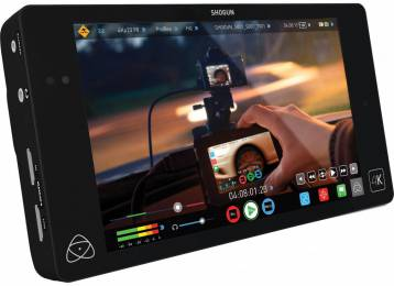 A new alliance with Ikegami has resulted in a new Atomos SDI Camera Status Open Standard for the Shogun recorder/player.