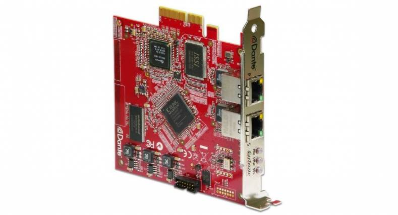 Dante PCIe Now Includes Thunderbolt Expansion Support - The