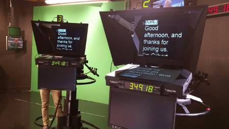Fox affiliate WDRB-TV recently added Autoscript E.P.I.C. LED teleprompters to its upgraded studio production facilities in Kentucky.