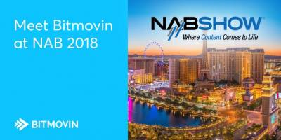 Bitmovin will be exhibiting per title encoding at NAB 2018