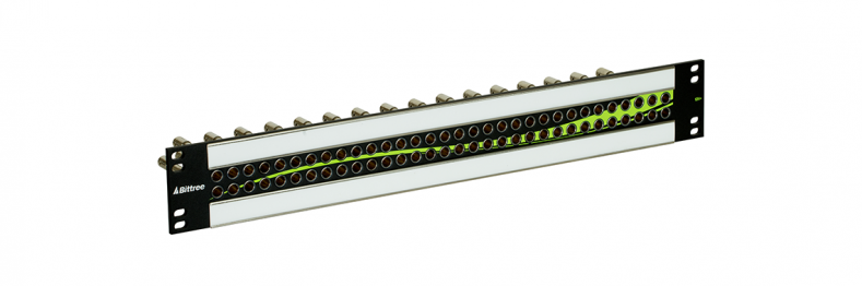 Patchbays remain an important component in new 12G, single link connectivity.