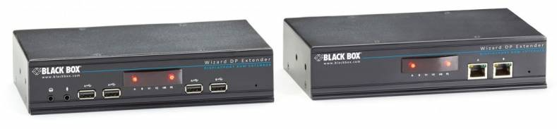 Blackbox  HD DisplayPort extender for video and USB 2.0