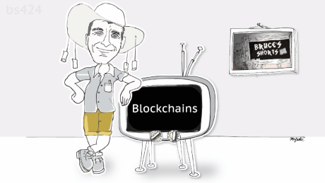 Bruce introduces the blockchain with a slant on the media industry.