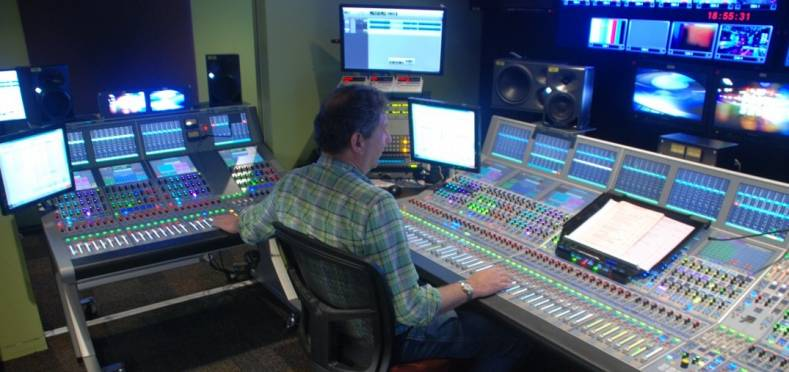 Audio is becoming an IP-centric technology that offers many benefits. Image: Rob Wolifson, TCN audio supervisor at Nine Network in Sydney.