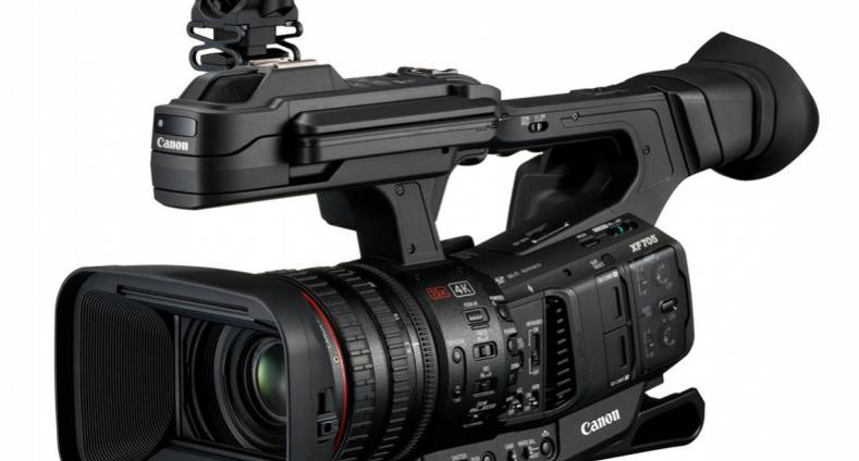 Canon promotional video introducing the XF705.