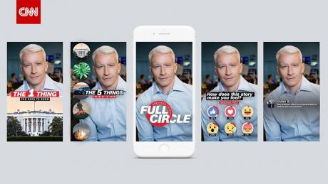 Anderson Cooper Full Circle airs daily on Facebook Watch.
