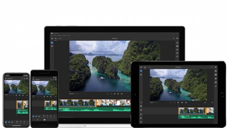 With Adobe's new software, code named Project Rush, you can start editing video on a cell phone and finish it on a desktop.