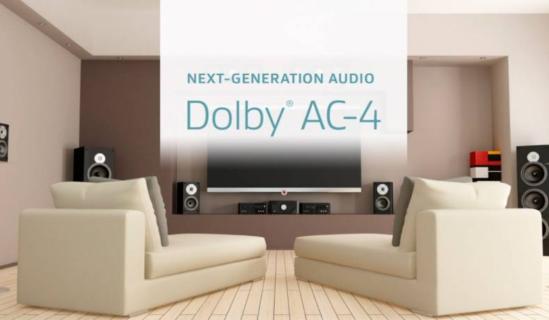 North American Broadcasters will use Dolby's AC-4 Audio compression system for their upcoming ATSC 3.0 broadcasts.