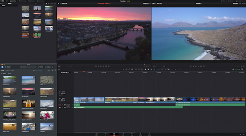 The FLOW Panel for DaVinci Resolve Studio will be generally available with FLOW 2021.