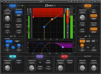 Waves eMO d5 Dynamic Plug-In including gate.