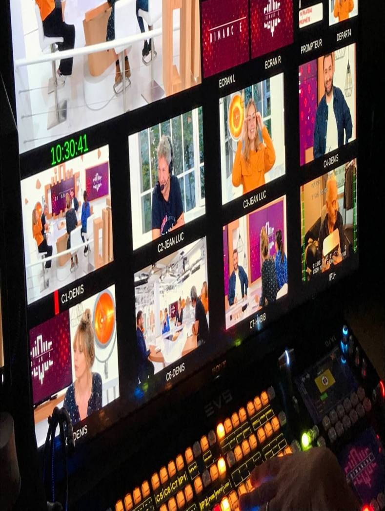 Clique TV produces content for millennials using an EVS Dyvi production switcher.