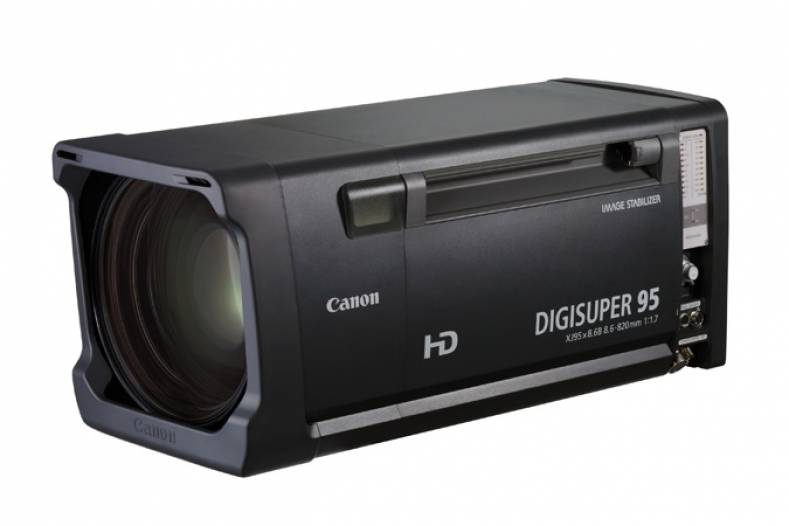 The DIGISUPER 95 lens combines a wide focal length (8.6mm) with a 95x zoom range for capturing dramatic shots from long distances.