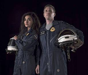 "Astronaut Zachery ""Max"" Levodolinksy and new partner, Tommie, face sci-fi adventure piloting space freighter Tsiolkovsky"
