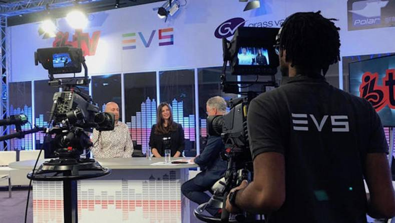 EVS Technology was at the core of the IBC TV broadcast throughout the RAI convention.