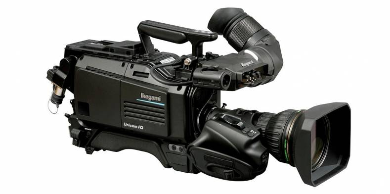 The Ikegami HDK-99 is a 3-CMOS, 1920 x 1080 studio and portable camera scanning up to 50/59.94P.