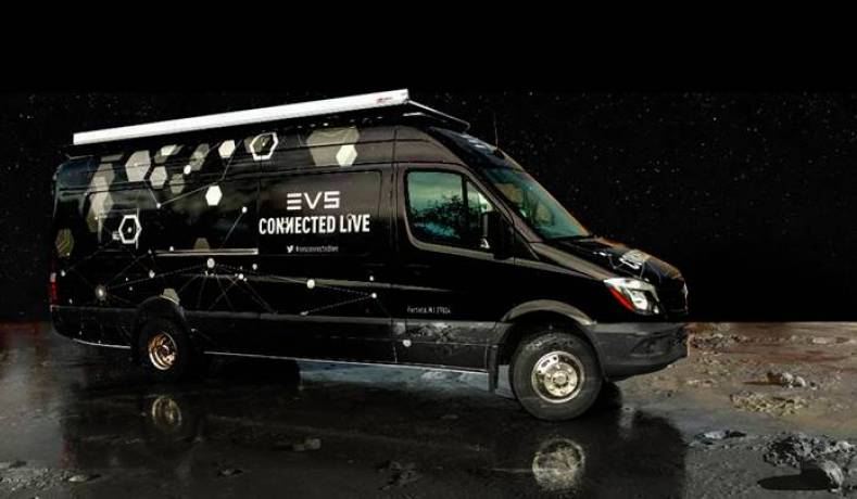 EVS' new demo truck on tour.