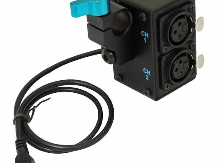 IndiPro ACGP53 Audio Adapter for GoPro cameras