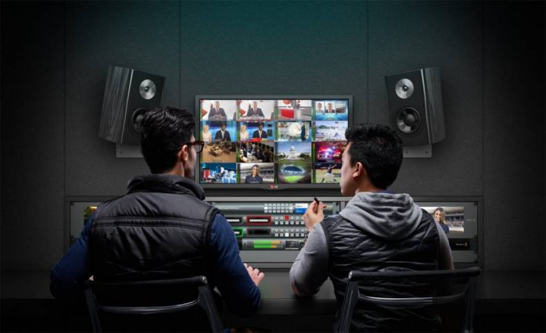 The new Blackmagic MultiView 4 HD provides a low-cost entry point for studios..