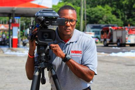 Vincent Parker of WBRC in Birmingham, Ala., is one of 100s of Raycom Media photographers using the JVC GY-HM660 ProHD for ENG operations.