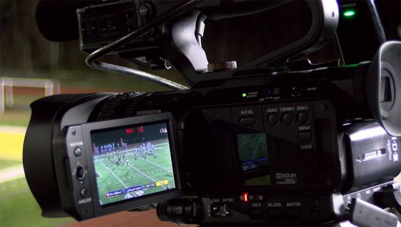 JVC HM250SP includes sports score overlays facility.