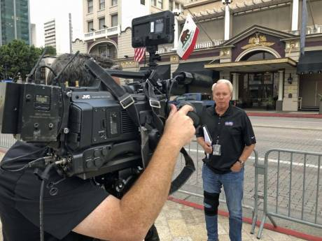 San Diego's KUSI is using JVC GY-HC900 CONNECTED CAM camcorders for ENG and field production.