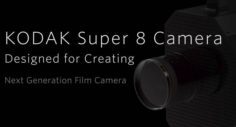 Kodak introduces a new Super 8 film camera.