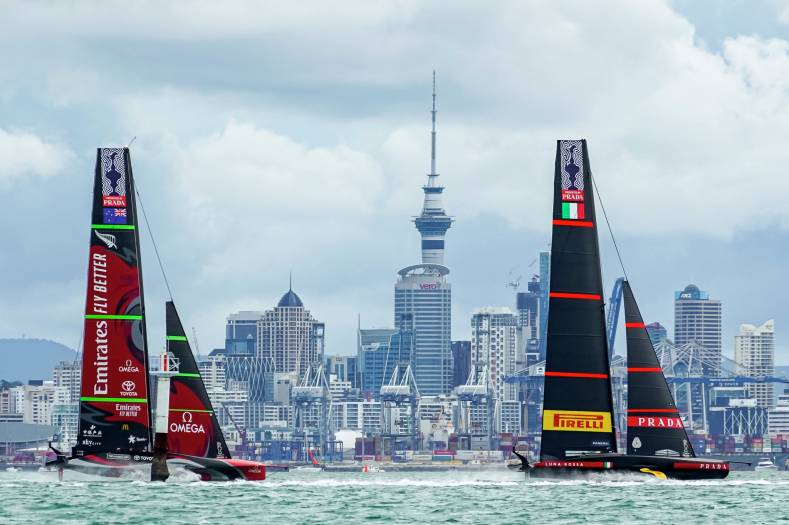 Photo credit: © ACE | Studio Borlenghi. Photo courtesy of America's Cup.