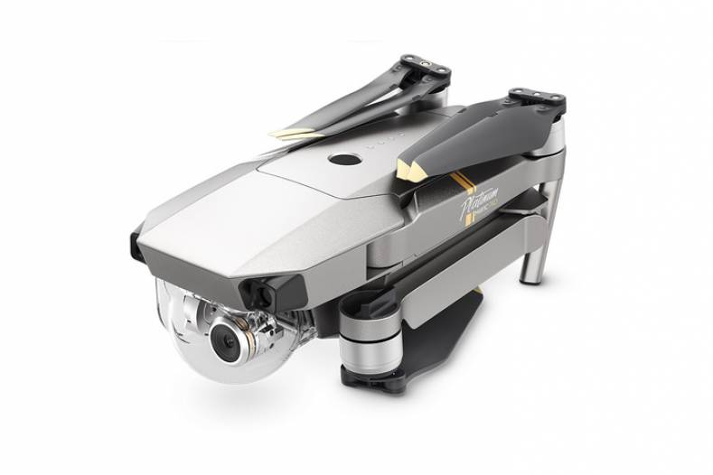The DJI Mavic Pro Platinum