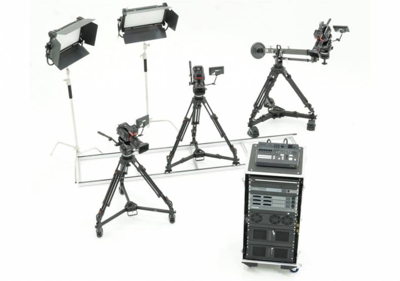 All the user needs to do is design their unique virtual environment, power up the StarTracker Studio rack and start shooting.