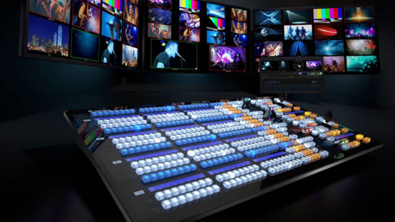 The NewTek IP Series production systems merge the power, efficiency, and flexibility of IP with a software-driven live production approach.