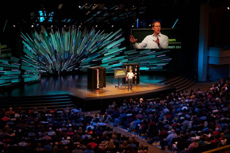 North Point Ministries has linked three of its seven church campuses with a high-speed Cisco data network.