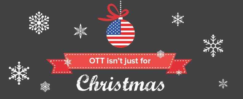 OTT is a hot commodity for Christmas season shoppers. But, will they continue subscriptions?