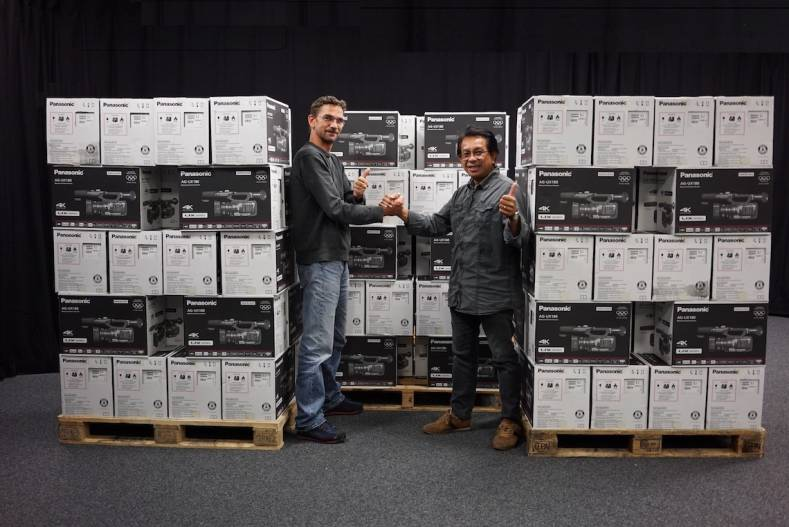 RTS buys 90 Panasonic UX180 4K camcorders for new reporting.