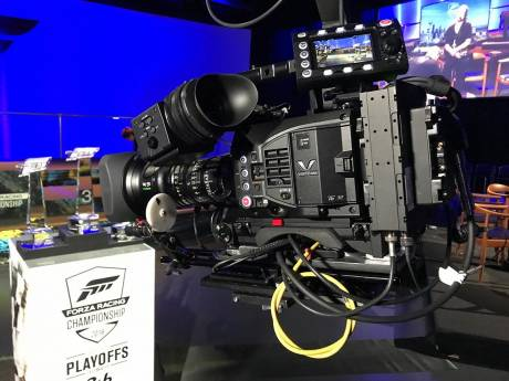 The VariCam LT used for live eSports broadcast at Fremont Studios.