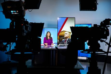 PBS NewsHour West has found a new home at Arizona State University's Walter Cronkite School of Journalism in Phoenix. Photos: Ellen O'Brien
