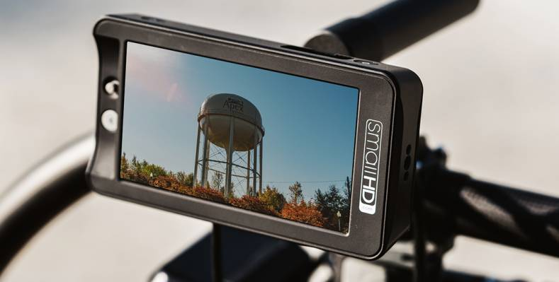 SmallHD's new 502 monitor puts out 1,000 nits, making it easy to see even in broad daylight