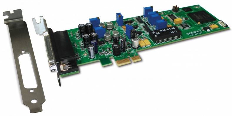 Sonifex Showcases New AoIP Product Range and PC-AD2 PCle
