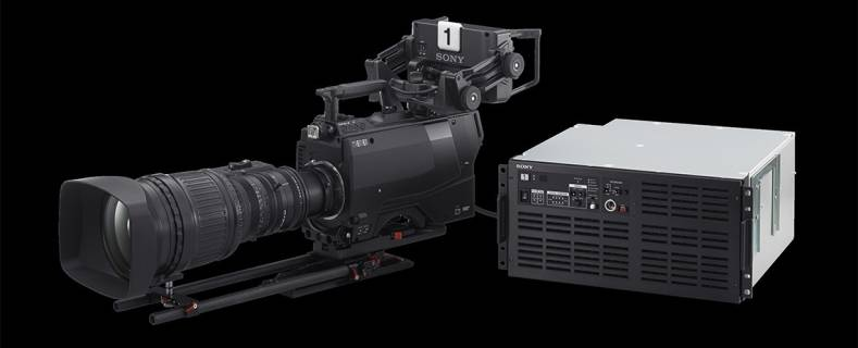 Sony reviewed a 3-chip 8K studio camera at IBC 2017.