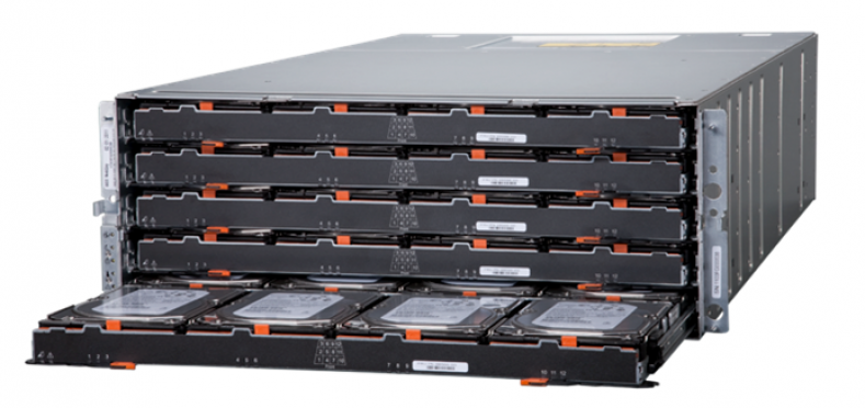 Dynamic disk pools (DDP) on NetApp's E-Series storage systems.