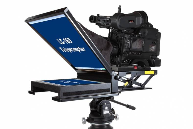 mirror image teleprompter highlights new lc 1550 15 inch prompter