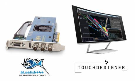 Bluefish444 and ​TouchDesigner