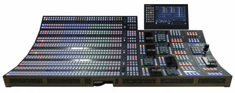 ​The new HVS-6000 video switcher.