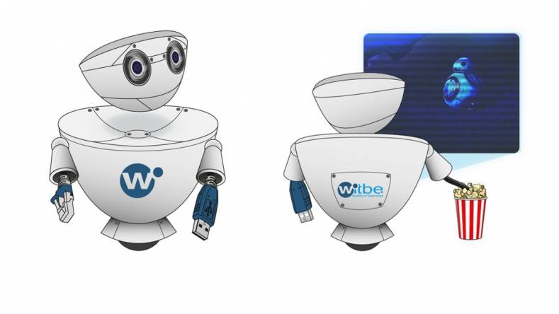 Witbe's non-intrusive Robots can use the Cloud for monitoring and reporting local QoE KPIs.